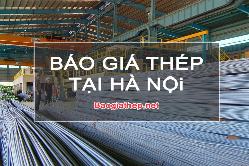 Báo giá thép tại Hà Nội