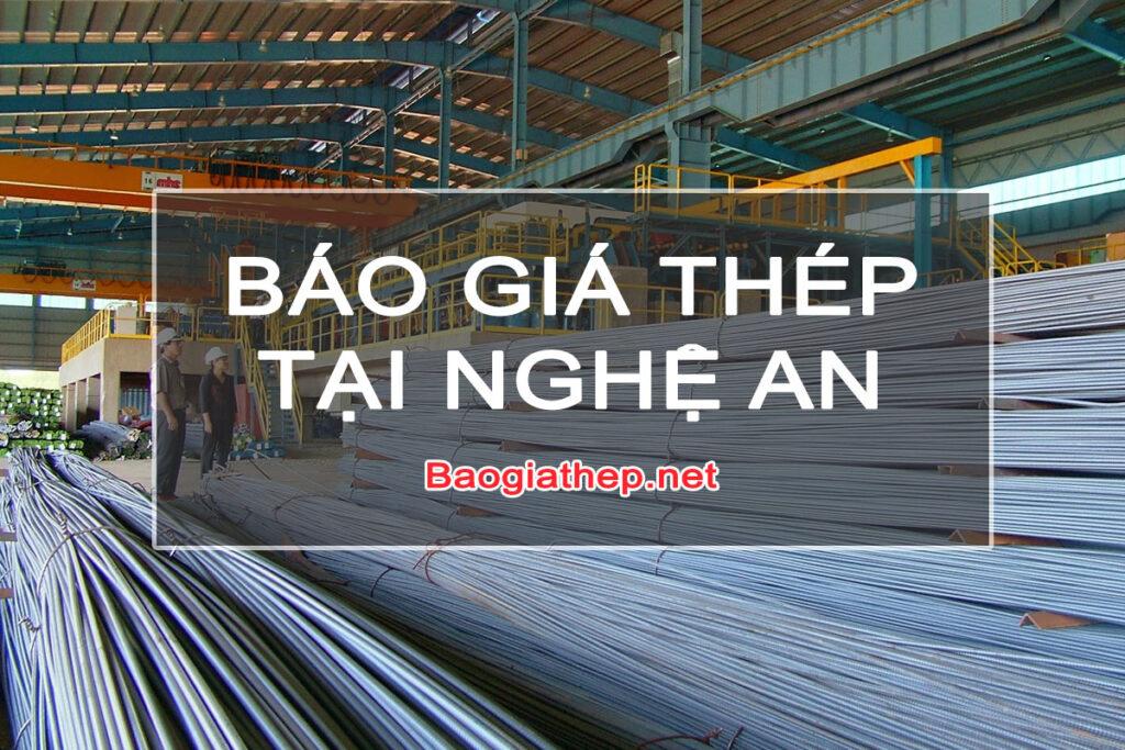 Báo giá thép tại Nghệ An